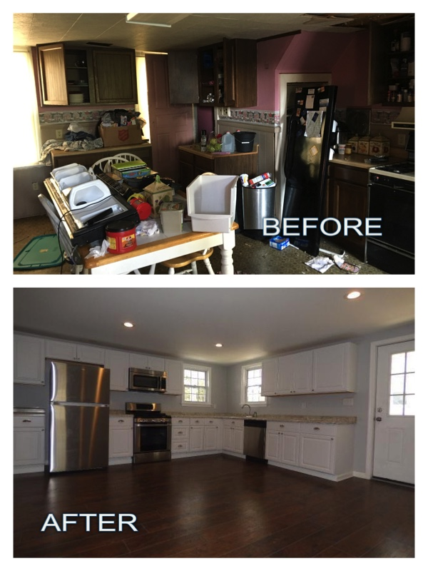 before kitchen remodel in Stewartstown & York, Pennsylvania