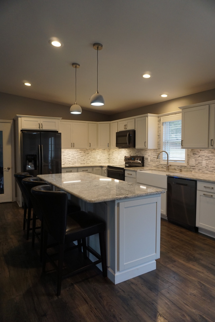 after kitchen remodel in Stewartstown & York, Pennsylvania