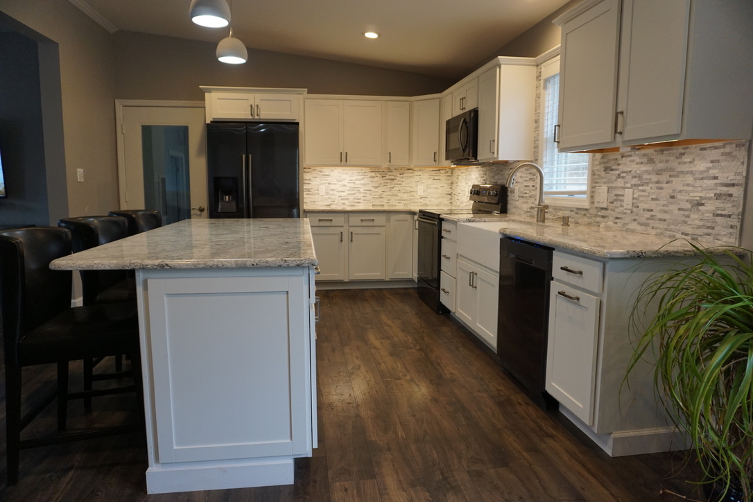 new kitchen remodel in Stewartstown & York, Pennsylvania